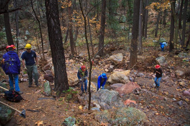 Chiricahua Trail System Renovation